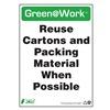 Zing 2048 Environmental Awareness Sign, 14 x 10In