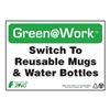 Zing 1029 Environmental Awareness Sign, 7 x 10In