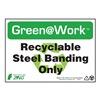 Zing 1047 Environmental Awareness Sign, 7 x 10In