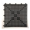 Deck Mat 12X12BLK DECK MAT VINYL TILE BLACK