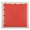 Deck Mat 12X12RED DECK MAT VINYL TILE RED