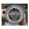 Slip-N-Grip M-FR-F0522-15 Steering Wheel Cover, Plstic, PK 250