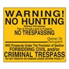 Lyle NT-036-12HA Traffic Sign, 12 x 12In, BK/YEL, Text