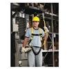 MSA 10072485 Full Body Harness, L, Yellow