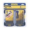 Irwin 318015 Drill Bit Set, HSS, 1/16-3/8 In, 15 Pc