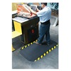 Andersen 04240020023100 Anti-Fatigue Mat, 24x33In, 7/8In, Blk/Yllw