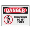 Brady 27419LS Danger Label, 3-1/2 In. H, 5 In. W, PK 8