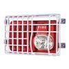 Safety Technology International STI-9717 Audible/Strobe Guard, Steel Wire, Flush