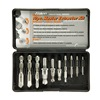 Alden 1007P Drill/Extractor Set, 10 PC, #5-1/2 In Cap