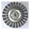 Westward 4EDD9 Stringer Wheel, 6 In D, Steel, 0.0320 Wire