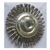Westward 4EDW6 Stringer Wheel, 4 In D, Steel, 0.0200 Wire