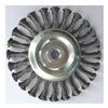 Westward 4EDX1 Stringer Wheel, 6 In D, Steel, 0.0250 Wire