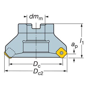 Sandvik Coromant RA245-254R63-18M