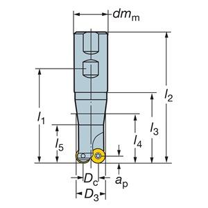 Sandvik Coromant RA300-038M32-13M