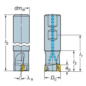 Sandvik Coromant RA390-016O16L-11L