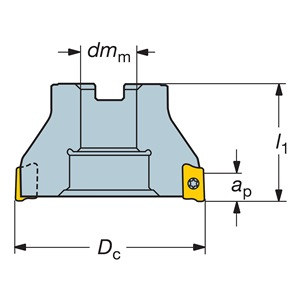 Sandvik Coromant RA390-051R19-17M