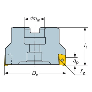 Sandvik Coromant RA390-127R38-18M