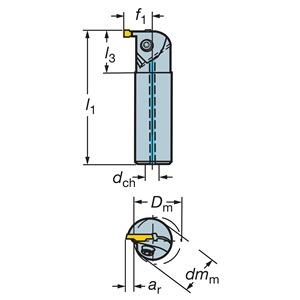 Sandvik Coromant RAG123D020-12B