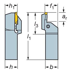 Sandvik Coromant RF123K100-16B-168BM
