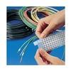 Brady SLFW-750-PK Wire Marker, WriteOn, .75x1.5, 12/Card, PK25