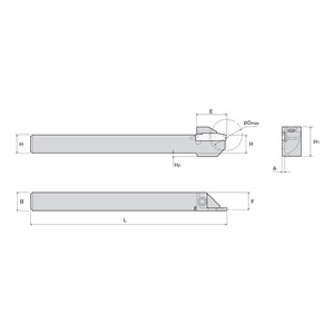 Ingersoll Cutting Tool TTEL9.5-20-2SH
