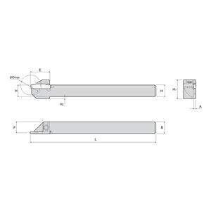 Ingersoll Cutting Tool TTER12.7-24-2SH