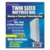 Approved Vendor 4NZF7 Mattress Bag, Twin, Recyclable, 1.5 Mil