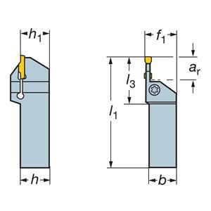 Sandvik Coromant LF123F040-20B