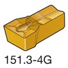 Sandvik Coromant N151.3-400-40-4G    H13A Carbide Groove Insert, N151.3-400-40-4G H13A, Pack of 10