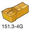 Sandvik Coromant N151.3-A094-25-4G   1125 Carbide Groove Insert, N151.3-A094-25-4G1125, Pack of 10