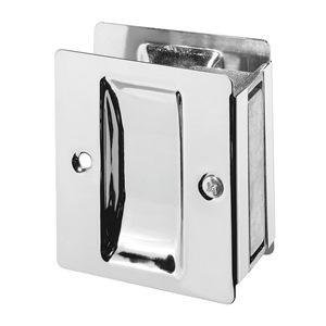 Rockwood Pocket Door Pull, Satin Chrome at Sears.com