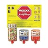 Moldex 0604 Ear Plugs, 33dB, W/o Cord, Univ