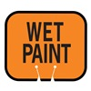 Tapco 535-00004 Traffic Cone Sign, Orange w/Blk, Wet Paint
