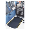 Andersen 04230020035100 Anti-Fatigue Mat, 33x58In, 5/8In, Blk/Yllw
