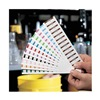 Stranco Inc TC-COLOR-PACK Calibration Label, 1-1/2 In. W, PK 182