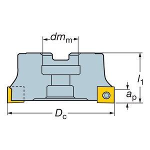 Sandvik Coromant RA290-127R38-12H