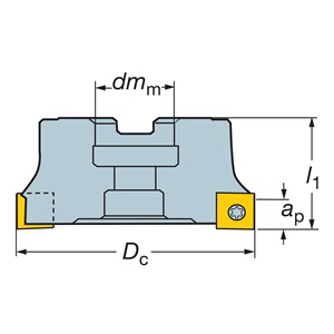 Sandvik Coromant RA290-152R38-12H