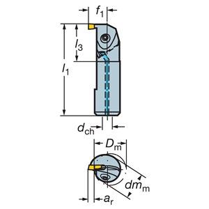Sandvik Coromant RAG151.32-D16-25