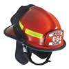 Cairns C-MOD-E2D2A2200 Fire Helmet, Red, Modern