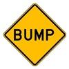 Brady 113293 Traffic Sign, 30 x 30In, BK/YEL, ENGR GR AL