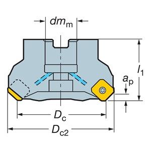 Sandvik Coromant A345-076R25-13H