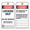 Brady 65454 Danger Tag, 5-3/4 x 3 In, Cardstock, PK25