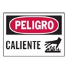 Brady 86142 Equipment Label, 3-1/2 In. H, Spanish, PK 5