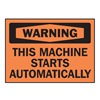 Brady 86294 Equipment Label, 3-1/2, 5 In. W, PK 5