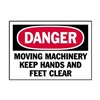 Brady 86227 Danger Label, Instruction, 5 In. W, PK 5
