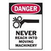 Brady 86262 Equipment Label, 5 In. W, PK 5