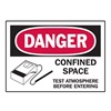 Brady 86283 Danger Label, Instruction, 3-1/2 In. H, PK5