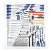 Westward 4VCP6 SAE and MetricRailroad Tool Set Number of Pieces: 176,  Primary Application: Mechanic