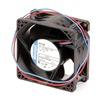 Ebm 8212JN Axial Fan, 12VDC, 3-1/7In H, 3-1/7In W