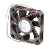 Ebm 4414FNH Axial Fan, 24VDC, 4-2/3In H, 4-2/3In W
